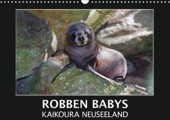 Robben Babys – Kaikoura Neuseeland (Wandkalender 2018 DIN A3 quer) von Bort,  Gundis