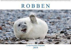 Robben – Lustige Bewohner Helgolands (Wandkalender 2019 DIN A2 quer) von Orth,  Egid