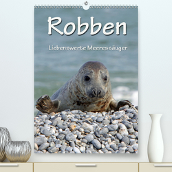 Robben (Premium, hochwertiger DIN A2 Wandkalender 2020, Kunstdruck in Hochglanz) von Berg,  Martina