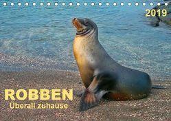 Robben – überall zuhause (Tischkalender 2019 DIN A5 quer) von Roder,  Peter