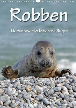 Robben (Wandkalender 2020 DIN A3 hoch) von Berg,  Martina