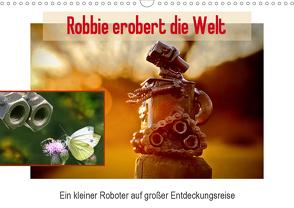Robbie erobert die Welt (Wandkalender 2021 DIN A3 quer) von Ola Feix,  Eva