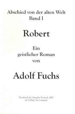 Robert von Fuchs,  Adolf
