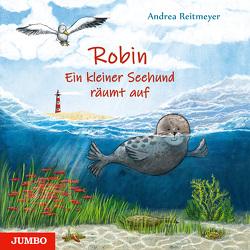 Robin, der kleine Seehund von Reitmeyer,  Andrea