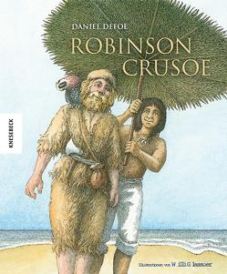 Robinson Crusoe von Defoe,  Daniel, Glasauer,  Willi
