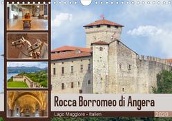 Rocca Borromeo di Angera (Wandkalender 2020 DIN A4 quer) von Di Chito,  Ursula