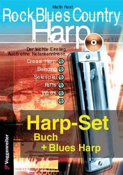 Rock Blues Country Harp-SET von Rost,  Martin