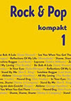Rock & Pop Kompakt 1 von Ostermann,  Rudolf