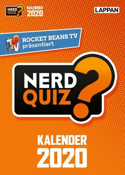 Rocket Beans TV – Nerd Quiz-Kalender 2020 mit Fragen rund um Games, Filme und Popkultur von Rocket Beans Entertainment GmbH