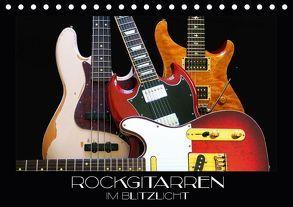 Rockgitarren im Blitzlicht (Tischkalender 2018 DIN A5 quer) von Bleicher,  Renate