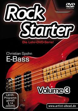 Rockstarter Vol. 3 – E-Bass von Spohn,  Christian