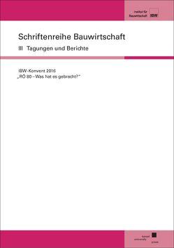 """""""RÖ 80 – Was hat es gebracht"""""""