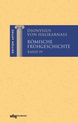 Römische Frühgeschichte IV von Städele,  Alfons
