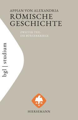 Römische Geschichte von Appian von Alexandria, Brodersen,  Kai, Veh,  Otto
