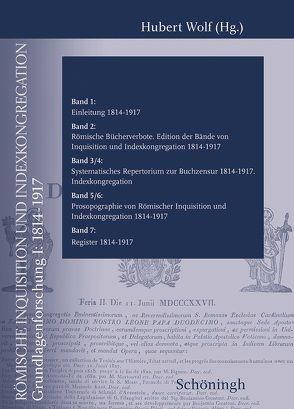 Römische Inquisition und Indexkongregation von Wolf,  Hubert
