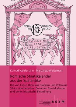 Römische Staatskalender aus der Spätantike von Weidemann,  Konrad, Weidemann,  Margarete