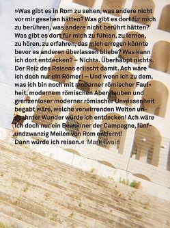 Römisches Gedicht von Mohr,  Beate, Winzen,  Matthias