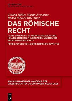 Römisches Recht von Avenarius,  Martin, Meyer-Pritzl,  Rudolf, Möller,  Cosima
