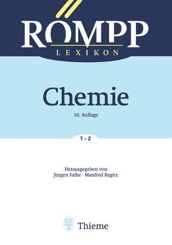 RÖMPP Lexikon Chemie, 10. Auflage, 1996-1999 von Falbe,  Jürgen, Regitz,  Manfred