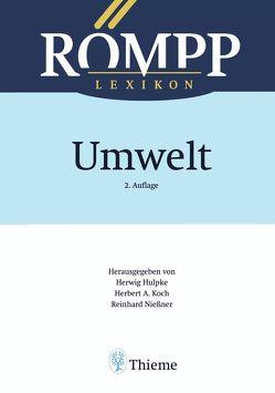 RÖMPP Lexikon Umwelt, 2. Auflage, 2000 von Adinolfi,  Maurizio, Ballschmiter,  Karlheinz, Berger,  Cornelia, Berger,  Michael, Bonka,  Hans