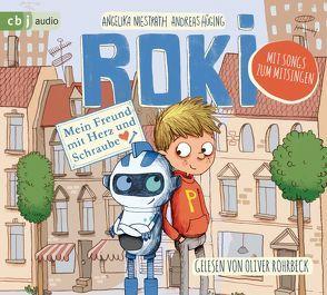 ROKI – Mein Freund mit Herz und Schraube von Hüging,  Andreas, Niestrath,  Angelika, Renger,  Nikolai, Rohrbeck,  Oliver
