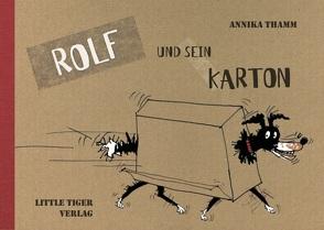 Rolf und sein Karton von Thamm,  Annika