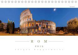 ROM 2019 – Panoramakalender (Tischkalender 2019 DIN A5 quer) von Kappelmeier,  Jürgen