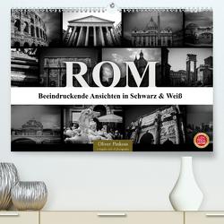 ROM – Ansichten in Schwarz und Weiß (Premium, hochwertiger DIN A2 Wandkalender 2020, Kunstdruck in Hochglanz) von Pinkoss,  Oliver