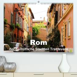 Rom – der gemütliche Stadtteil Trastevere (Premium, hochwertiger DIN A2 Wandkalender 2020, Kunstdruck in Hochglanz) von Dürr,  Brigitte