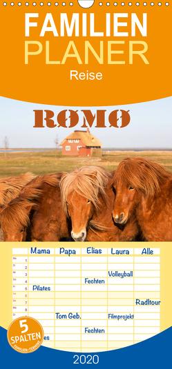 Røm, die dänische Wattenmeerinsel – Familienplaner hoch (Wandkalender 2020 , 21 cm x 45 cm, hoch) von photo impressions,  D.E.T.