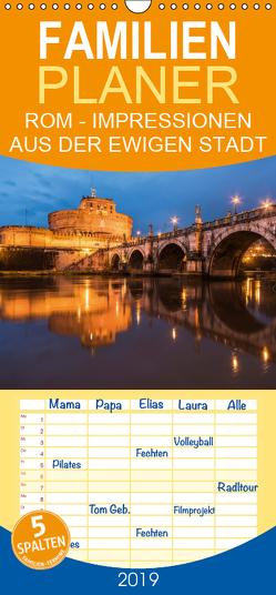 Rom – Impressionen aus der ewigen Stadt – Familienplaner hoch (Wandkalender 2019 , 21 cm x 45 cm, hoch) von Claude Castor I 030mm-photography,  Jean