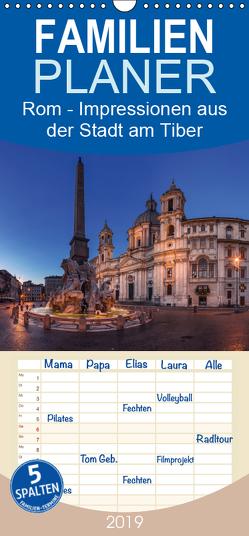 Rom – Impressionen aus der Stadt am Tiber – Familienplaner hoch (Wandkalender 2019 , 21 cm x 45 cm, hoch) von Claude Castor I 030mm-photography,  Jean