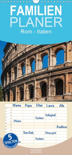 Rom-Italien – Familienplaner hoch (Wandkalender 2020 , 21 cm x 45 cm, hoch) von Kirsch,  Gunter