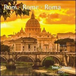 Rom Rome 2020 – Broschürenkalender – Wandkalender – mit herausnehmbarem Poster – Format 30 x 30 cm von DUMONT Kalenderverlag