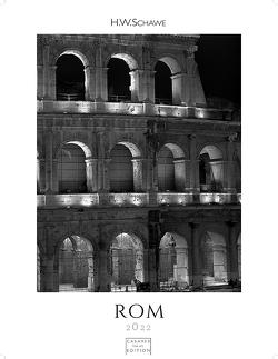 Rom schwarz-weiss 2022 L 59x42cm von Schawe,  Heinz-werner