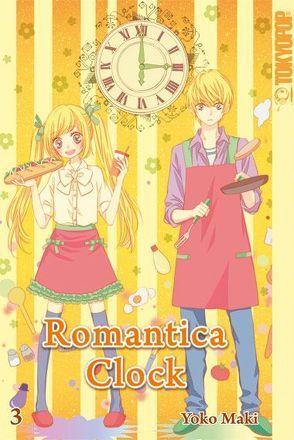 Romantica Clock 03 von Maki,  Yoko