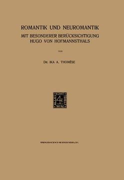 Romantik und Neuromantik von Thomese,  Ika A.