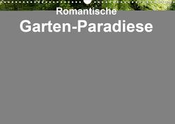 Romantische Garten-Paradiese (Wandkalender 2020 DIN A3 quer) von E. Hornecker,  Heinz