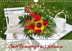 Romantische Gartenimpressionen (Wandkalender 2018 DIN A4 quer) von Werner-Ney,  Simone