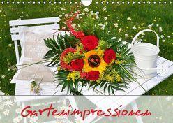 Romantische Gartenimpressionen (Wandkalender 2019 DIN A4 quer) von Werner-Ney,  Simone