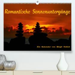 Romantische Sonnenuntergänge (Premium, hochwertiger DIN A2 Wandkalender 2021, Kunstdruck in Hochglanz) von Seifert,  Birgit