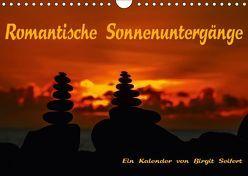 Romantische Sonnenuntergänge (Wandkalender 2018 DIN A4 quer) von Seifert,  Birgit