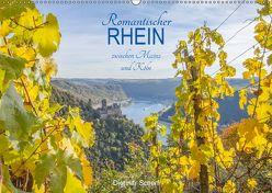 Romantischer Rhein zwischen Mainz und Köln (Wandkalender 2018 DIN A2 quer) von Scherf,  Dietmar