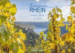 Romantischer Rhein zwischen Mainz und Köln (Wandkalender 2018 DIN A3 quer) von Scherf,  Dietmar