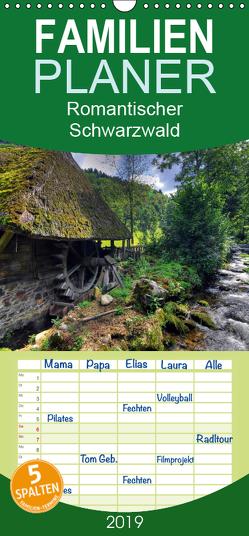 Romantischer Schwarzwald – Familienplaner hoch (Wandkalender 2019 , 21 cm x 45 cm, hoch) von Laue,  Ingo