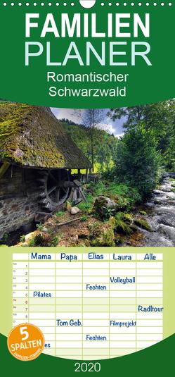 Romantischer Schwarzwald – Familienplaner hoch (Wandkalender 2020 , 21 cm x 45 cm, hoch) von Laue,  Ingo