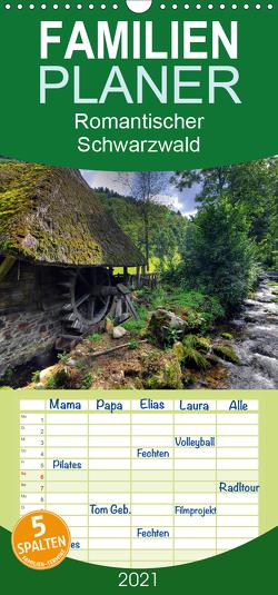 Romantischer Schwarzwald – Familienplaner hoch (Wandkalender 2021 , 21 cm x 45 cm, hoch) von Laue,  Ingo