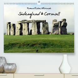 Romantisches Fernweh – Südengland & Cornwall 2021 (Premium, hochwertiger DIN A2 Wandkalender 2021, Kunstdruck in Hochglanz) von N.,  N.