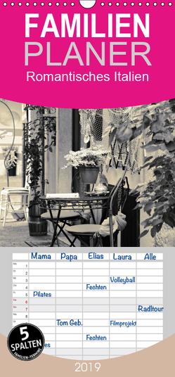 Romantisches Italien – Familienplaner hoch (Wandkalender 2019 , 21 cm x 45 cm, hoch) von Reuter,  Susen