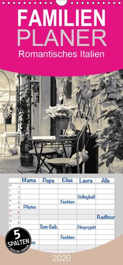 Romantisches Italien – Familienplaner hoch (Wandkalender 2020 , 21 cm x 45 cm, hoch) von Reuter,  Susen
